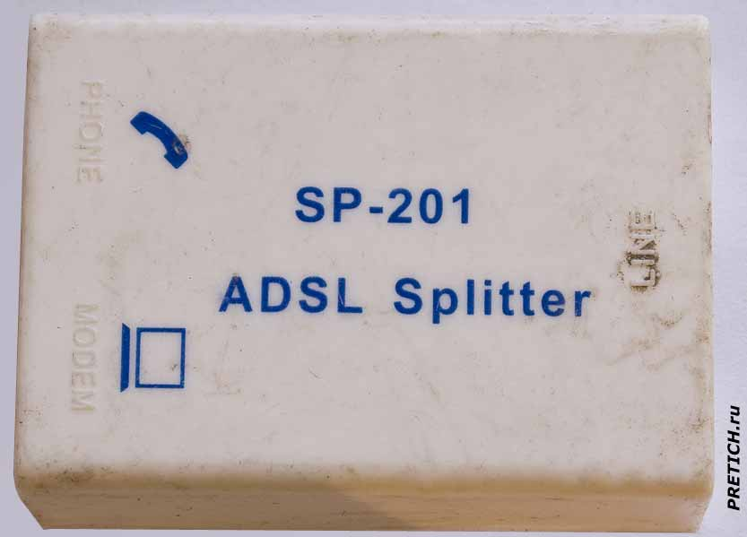 SP-201 ADSL Splitter полное описание сплиттера