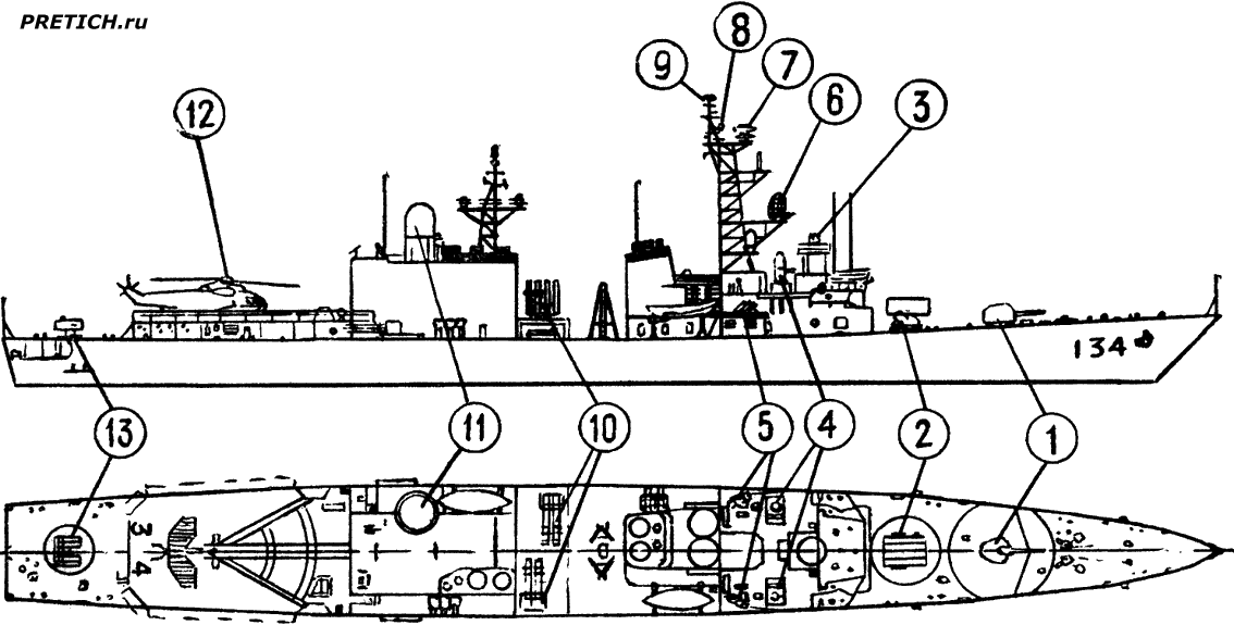pretich.ru/images/articles/dd134-b_us-navy_mariner_boat_shema_0001.png