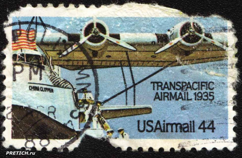 Transpacific Airmail 1935. USAirmail