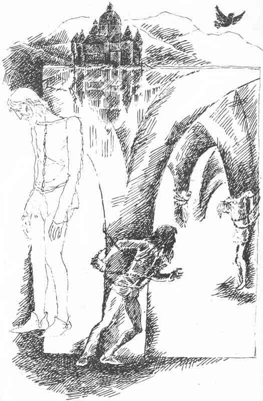 иллюстрации к балладе светлана жуковского набросок карандашом заборов ограждений калининграде