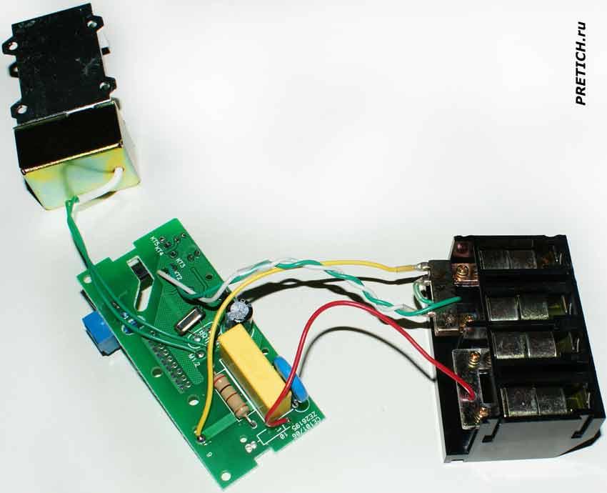 Энергомера СЕ101-S6 устройство