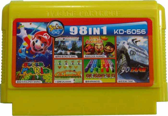 KD-6056 картридж с играми TV GAME CARTRIDGE