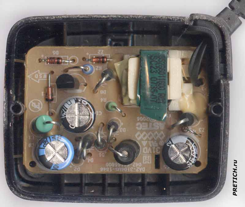 NOKIA AC-3X разборка зарядки для телефонов