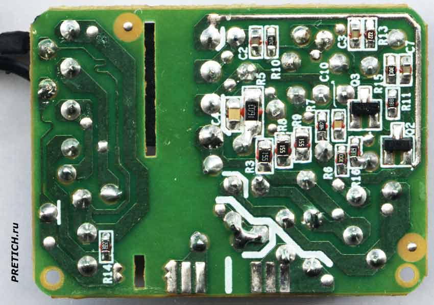 NOKIA AC-3E ремонт платы электроники зарядки