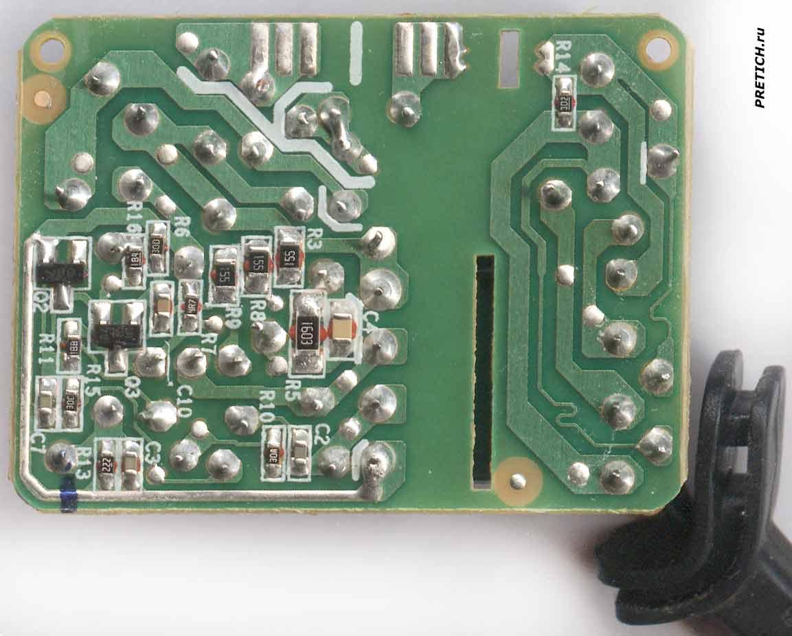 NOKIA AC-3X схема зарядного устройства