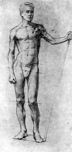 Рисунки голых людей