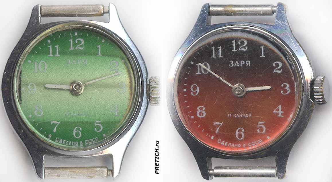 4cc63588 Претич - Статьи: Часы Заря - разные, СССР - обзоры и разборка
