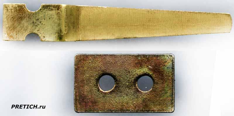 РКМ1 разборка советского реле, пружина