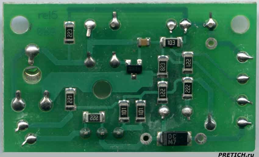VIZIT УКП-12 плата электроники домофона, схема