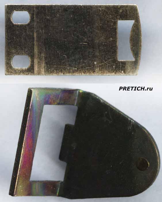 РКМ1 разборка реле, якорь и фиксирующая пластина