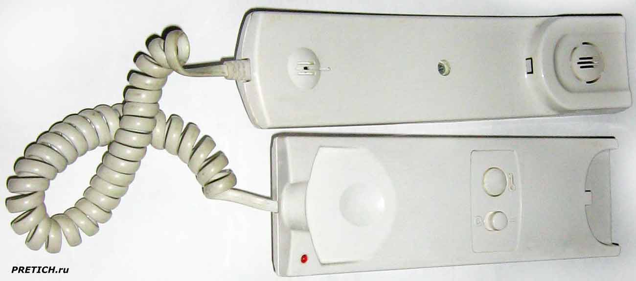 VIZIT Home Auto УКП-12, устройство квартирное переговорное