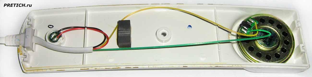 VIZIT UKP-12, разборка трубки, ищем поломку