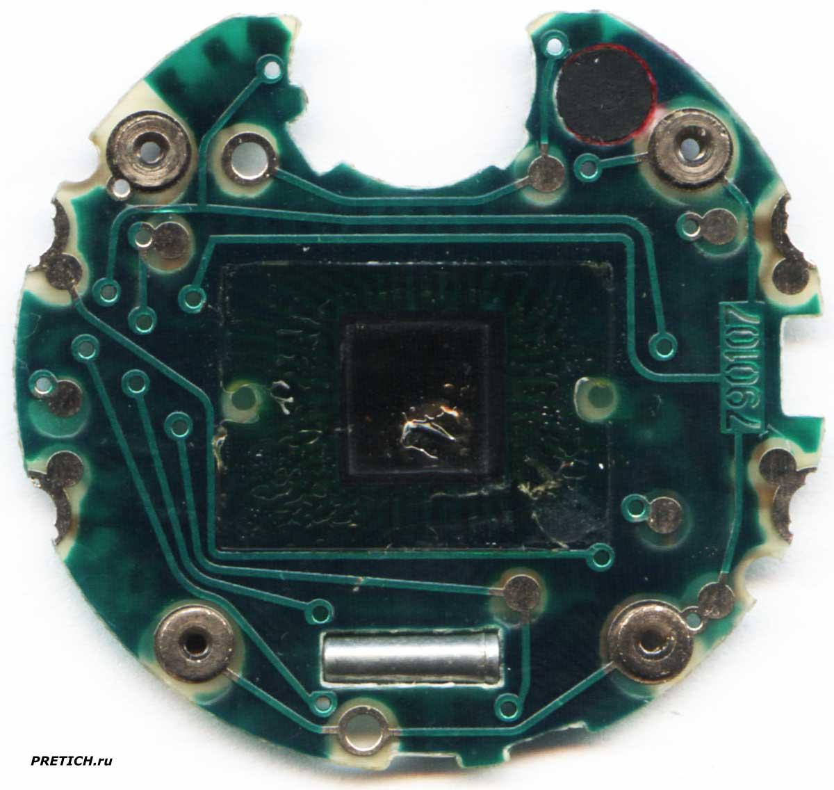 Электроника 55 плата советских часов