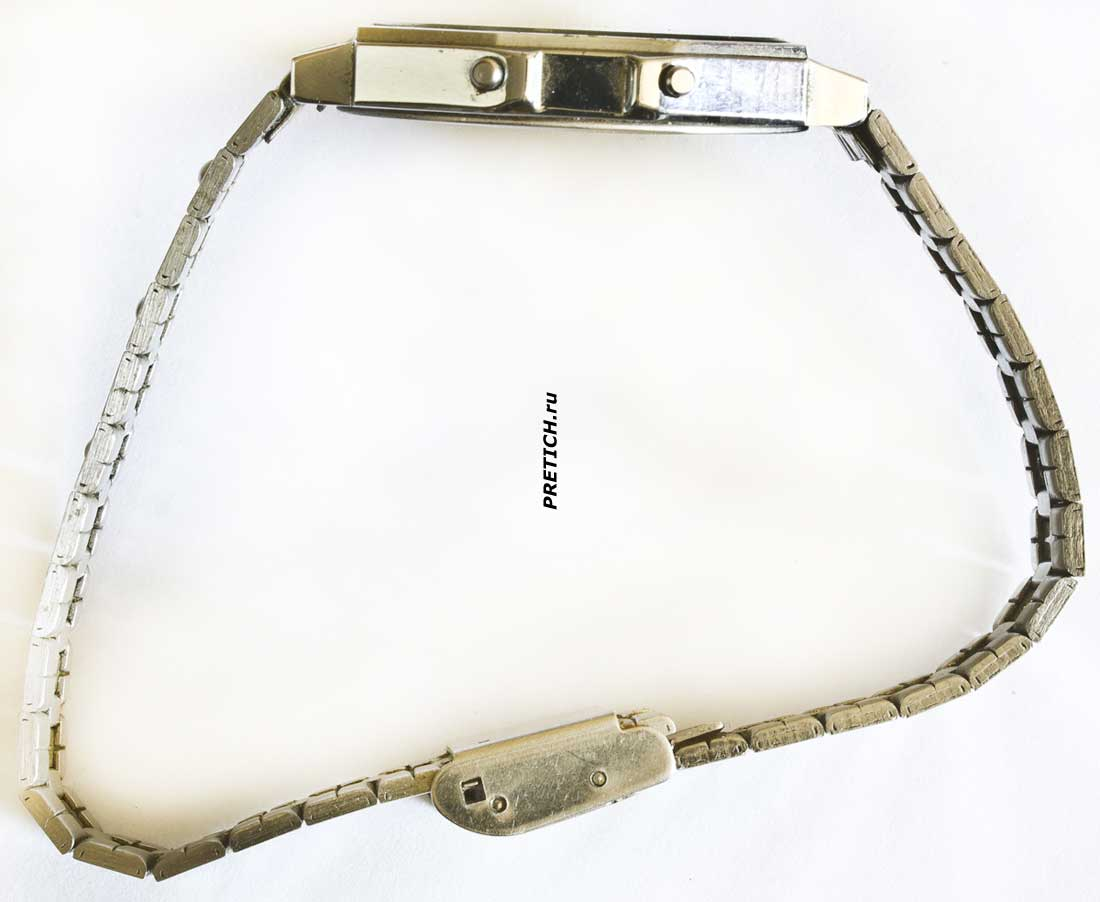 Электроника 55 советские часы, описание